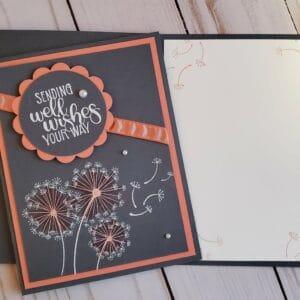 well wishes card inside and front